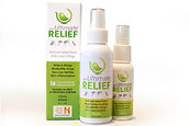 Ultimate Relief Logo and Packaging Design and Advertising Campaign
