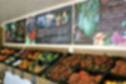 Summerland House Farm design of retail wall graphics for The Grocer