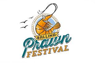 Ballina Prawn Festival Logo design