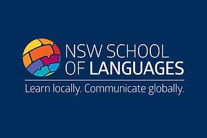 NSW School of Languages logo design