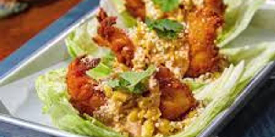 Cooking with Shonte'- Crispy Shrimp Lettuce Wraps