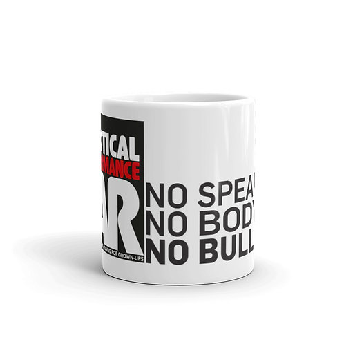 Mug with No Speakers logo