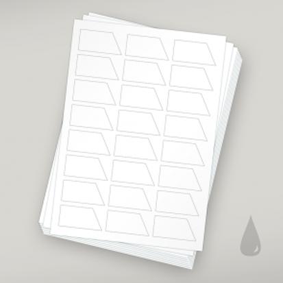 Etiketten für Schokotäfelchen - Tinte 10er Pack