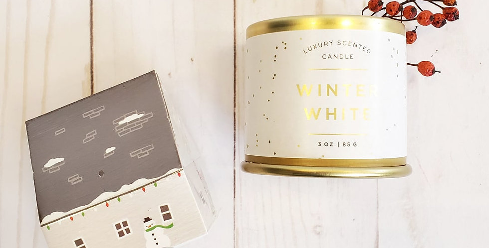 Winter White Candle