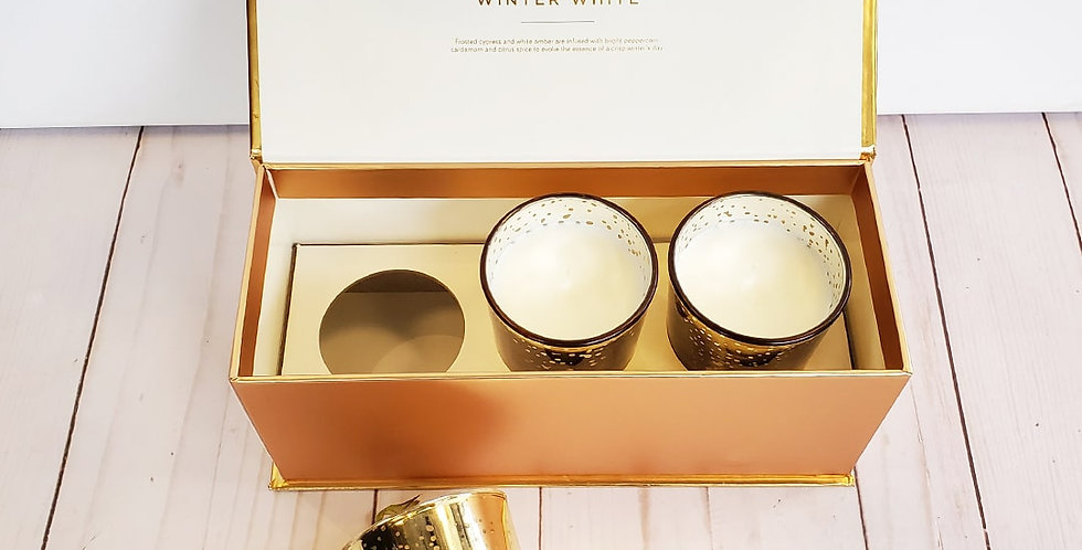 Winter White Gift Box