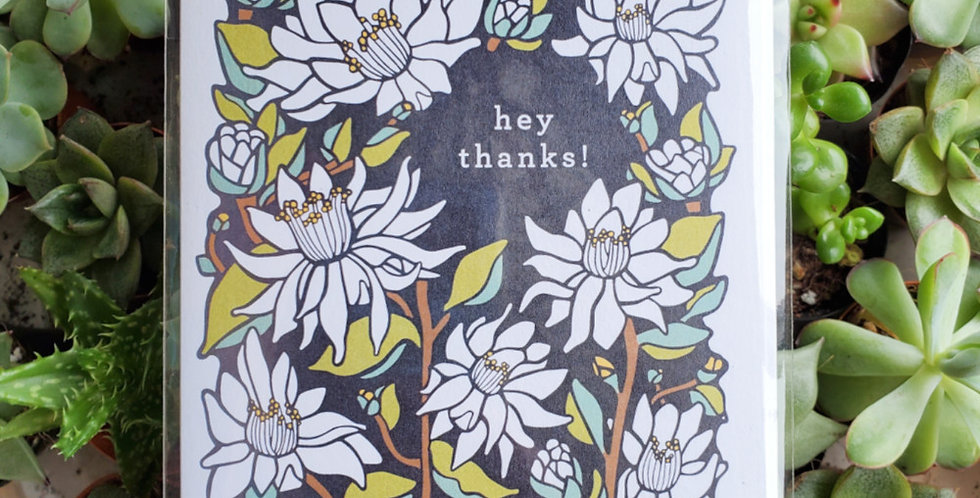 Hey Thanks!
