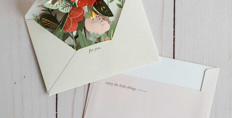 Pop Up Card - For You
