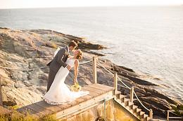 Rhode Island Newport Ocean Wedding Blooming Blossoms