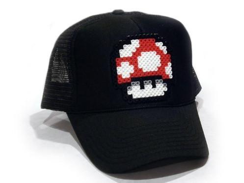 Resultado de imagen para gorra perler beads