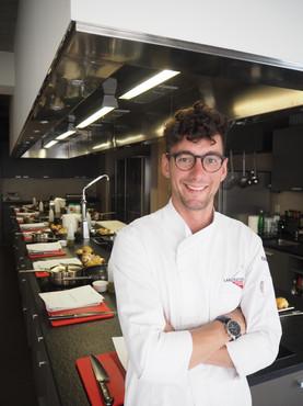 Cooking teacher at Laboratorio Cooking School