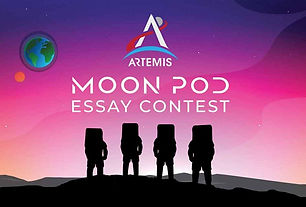 TAKE REMOTE LEARNING TO SPACE, TAKE A TRIP TO THE MOON WITH NASA'S ARTEMIS MOON POD ESSAY CONTEST!