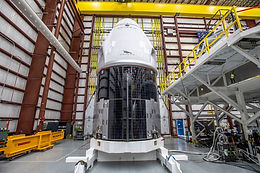 Crew Dragon at Launch Complex for NASA's SpaceX Crew-1; Astronauts Arrive Sunday