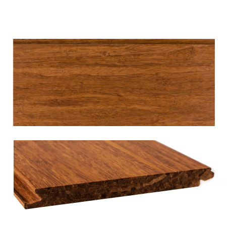 Bambus parket solid carbon plank  14 mm
