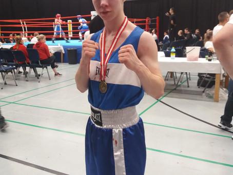 Jerelle kultaa Hilleröd Box Cupissa!