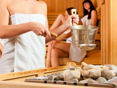 Sauna v hlavní roli. Umění, odpočinek a prevence.