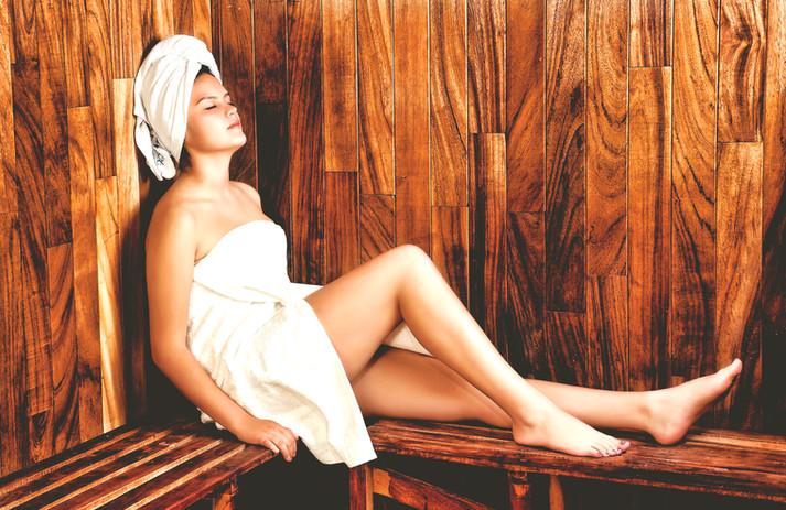 Enjoy our Sauna's after a good workout!