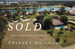 Lot 22 Lake Denise Blvd, Clermont FL 34711
