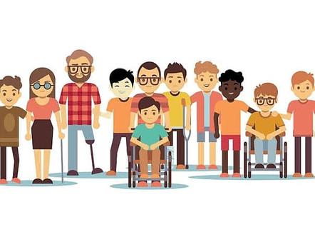 Parabénspelo Dia Nacional da Luta da Pessoa com Deficiência