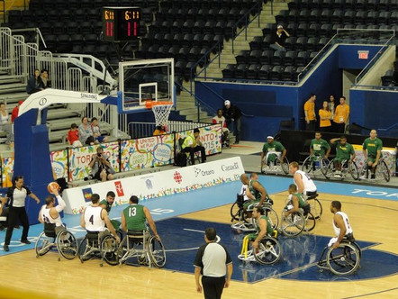 Basquetebol de cadeira de rodas