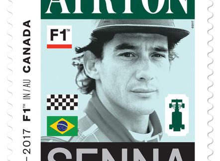 Relembre a trajetória de Senna, um dos homenageados com o selo pelos 50 anos do GP do Canadá