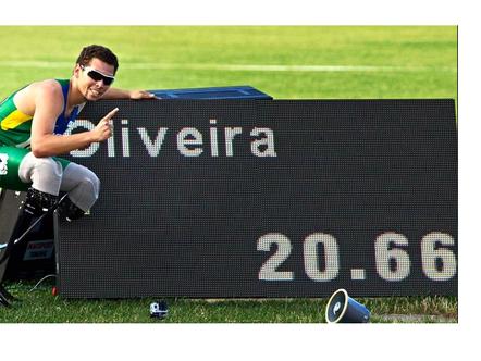 Atletismo Paralímpicos e superação de Alan Fonteles