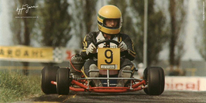Crédito site oficial do Ayrton Senna
