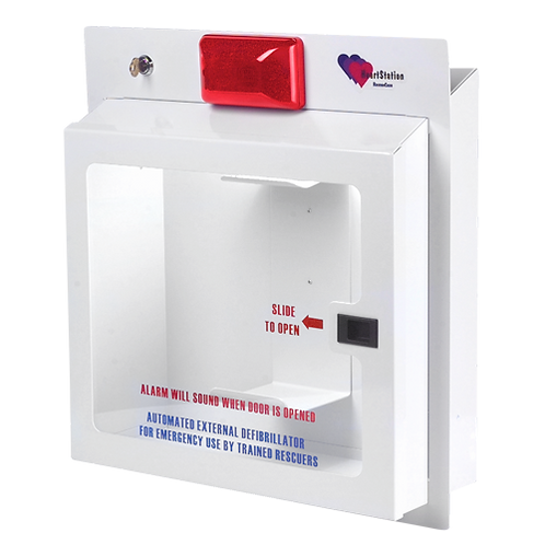 HeartStation RC5000R AED Recessed Cabinet with Alarm