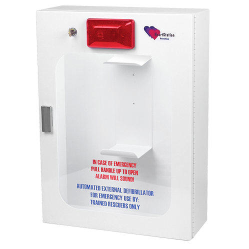 Heartstation RC2000W AED Wall Cabinet with Alarm