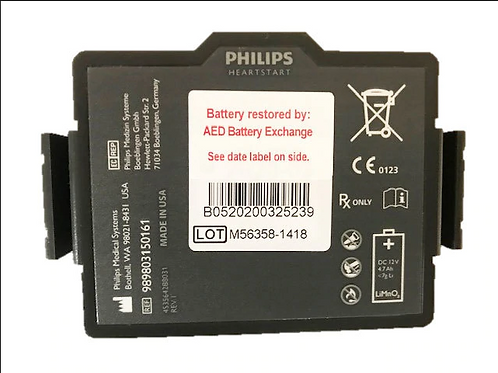 AED Battery Exchange FR3-ABE Re-Celled AED Battery
