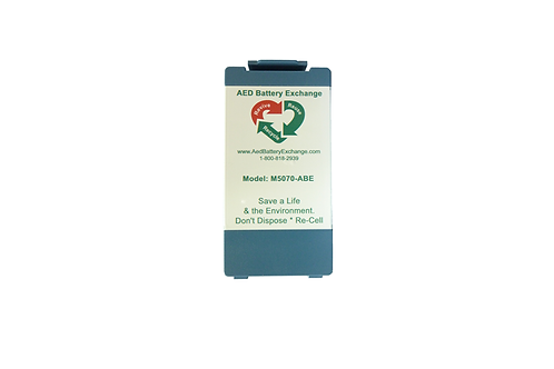 AED Battery Exchange M5070A-ABE Re-Celled AED Battery