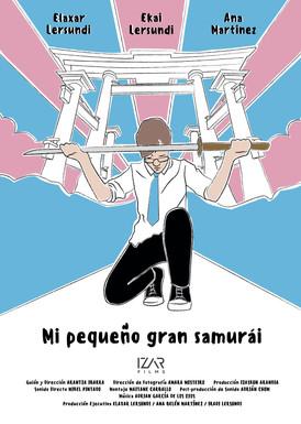 3-poster_Mi Pequeño Gran Samurai.
