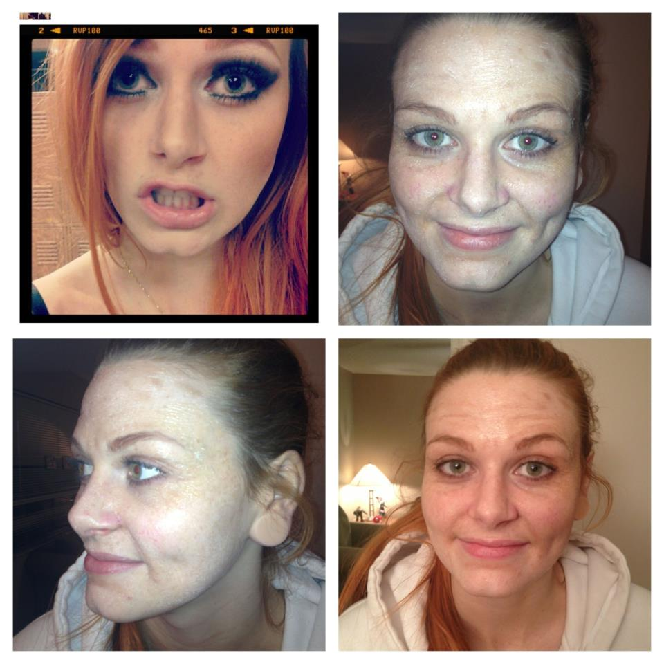 Old Age Make-up.