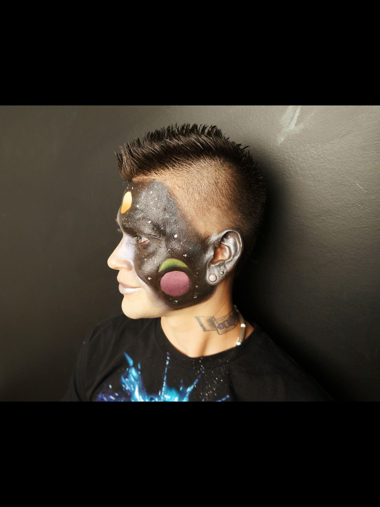 Galaxy Facepaint.