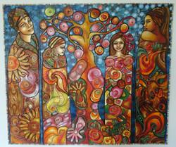 La Famiglia africana sotto il Baobab
