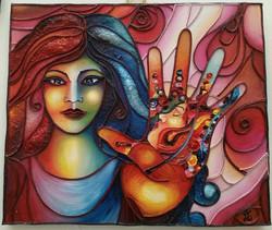 Klimt in my hands (version 3)