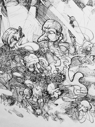ESTUDIO DE ANATOMIA SEGUN COMMEDIA DELL'ART
