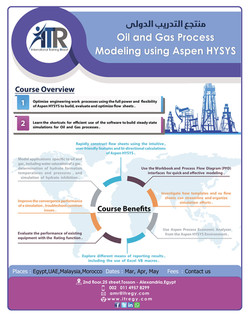 oil and gas process modeling