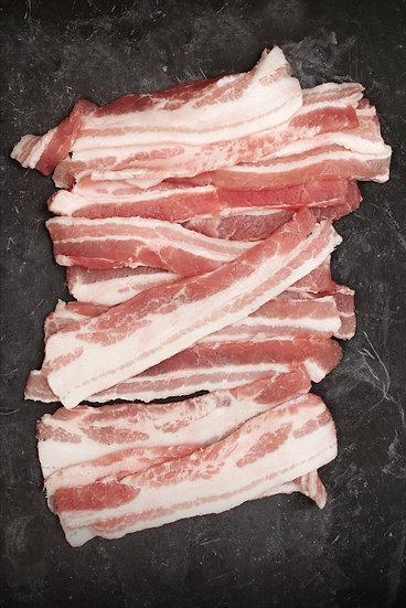 Streaky Bacon (unsmoked) x10