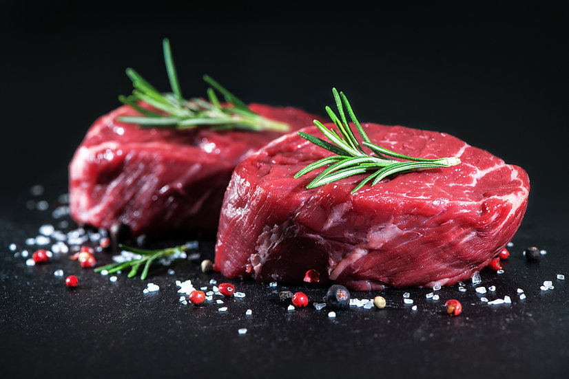 6oz Fillet Steaks x2