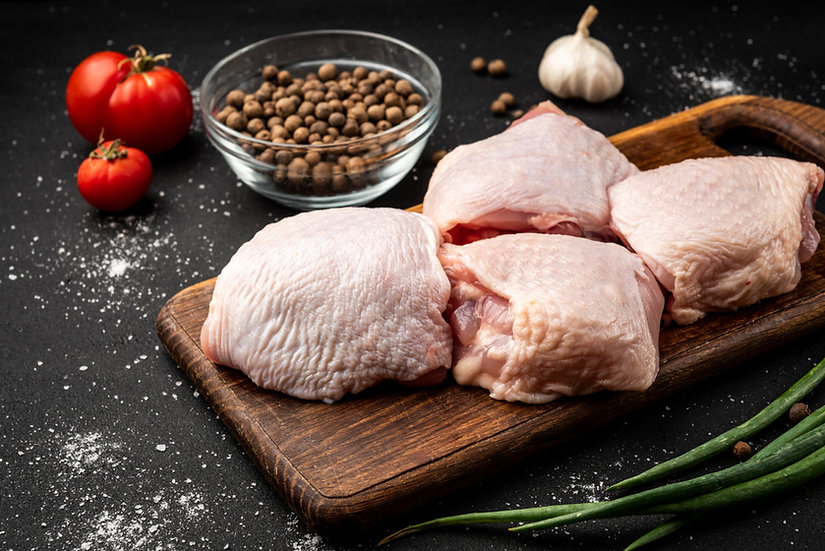 Free Range Chicken Thighs x4