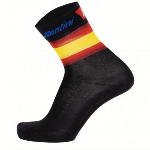 Santini La Vuelta socks 2019