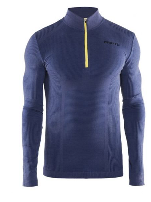 Craft base layer wool comfort zip