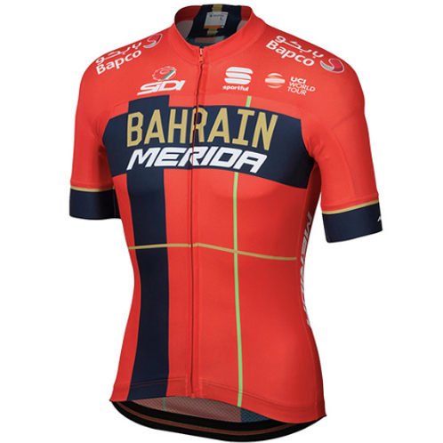 Bahrain Merida jersey 2019