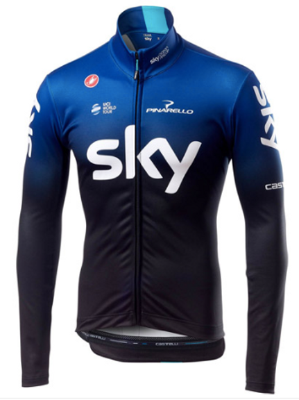 Team Sky long sleeve jersey 2019