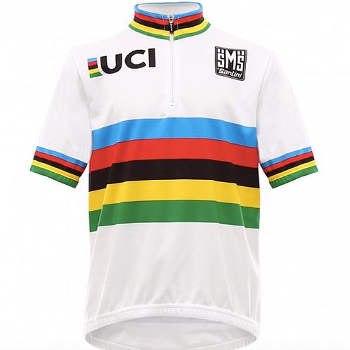 Santini UCI kids jersey