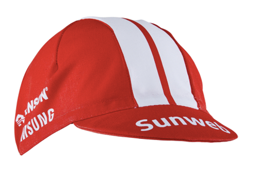 Sunweb cycling cap
