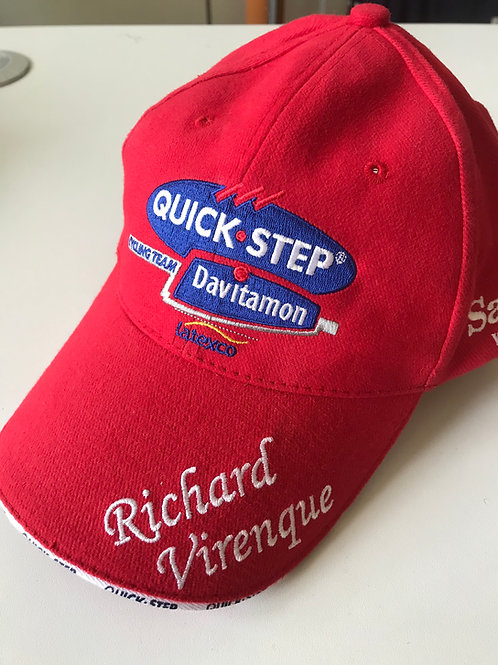 Retro podium cap Richard Virenque