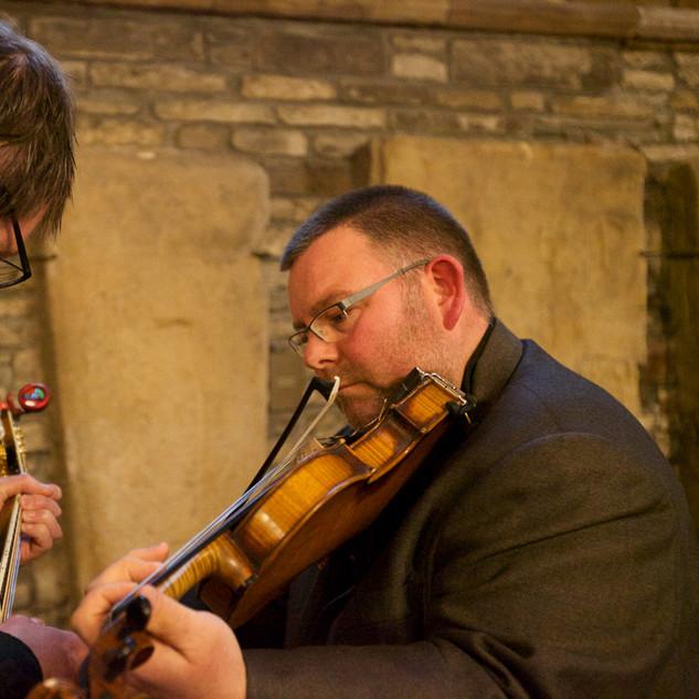 Orkney based musicians in full flow