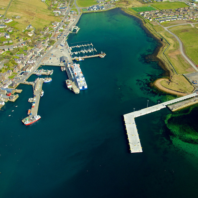 Stromness harbour and marina