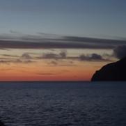 Burrafirth at sunset